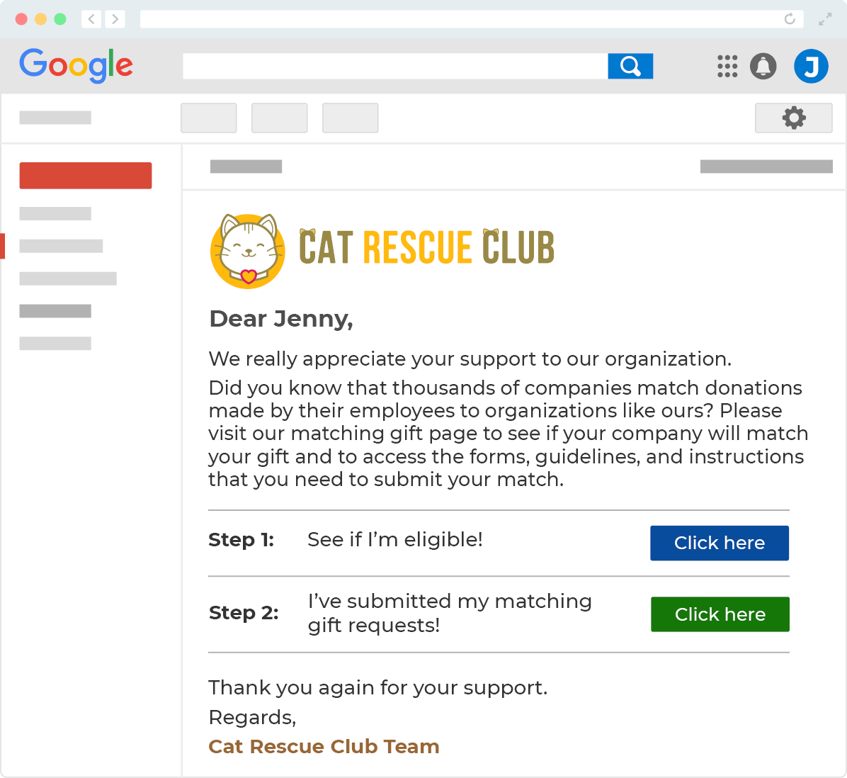 cat rescue email image