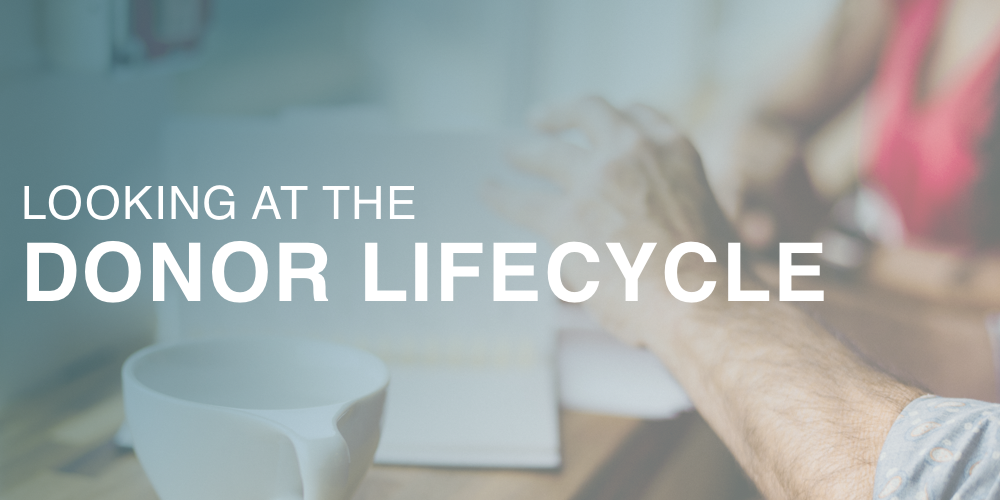 looking at the donor lifecycle header image