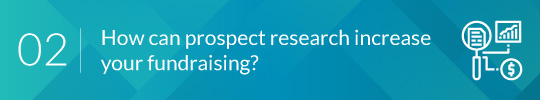 prospect research two header image