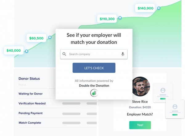 double the  donation product screenshot