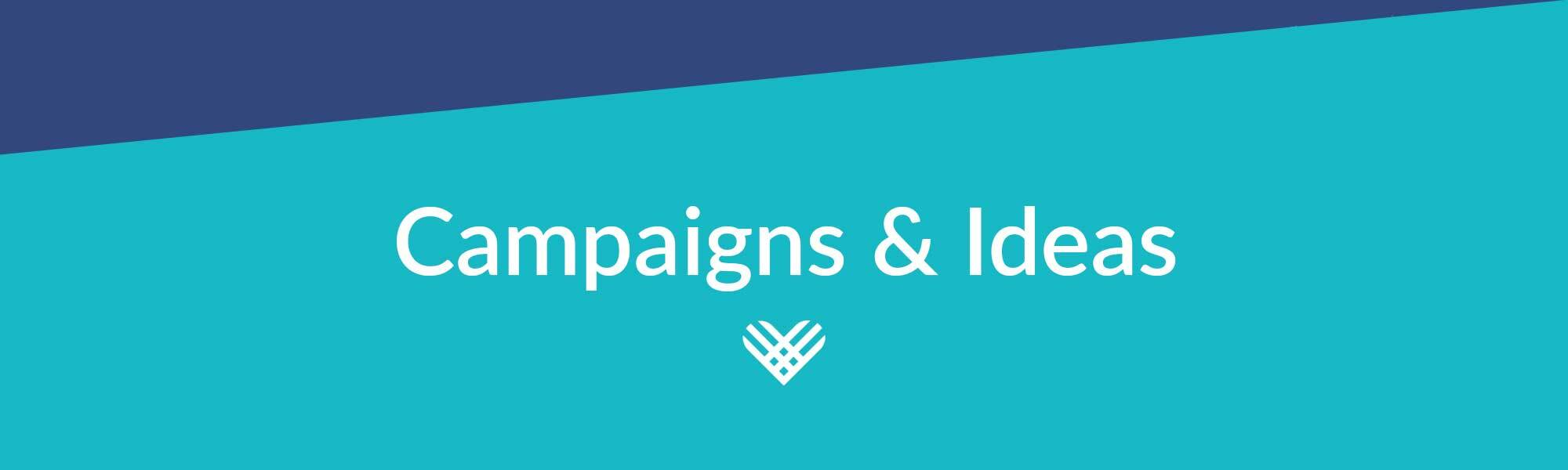 header image for giving tuesday campaigns and ideas