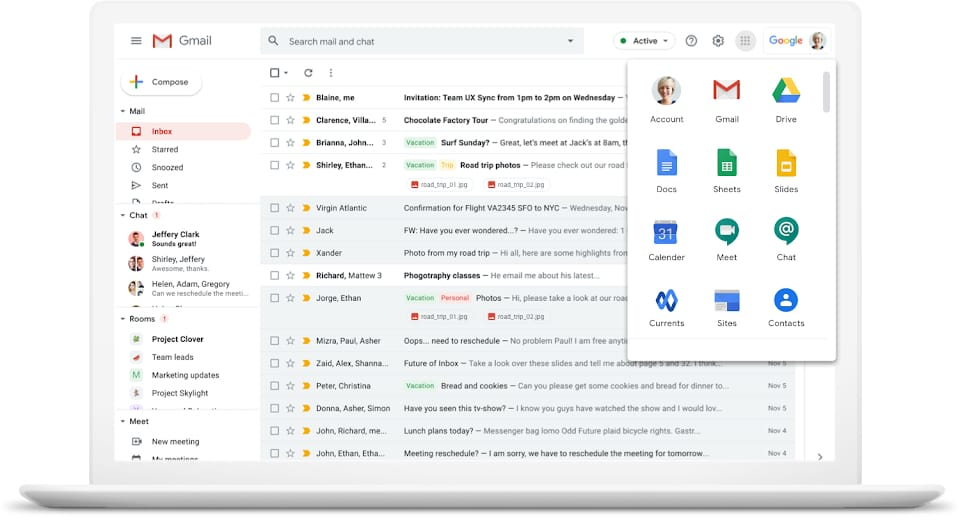 Example of using Google Workspace for nonprofit team productivity