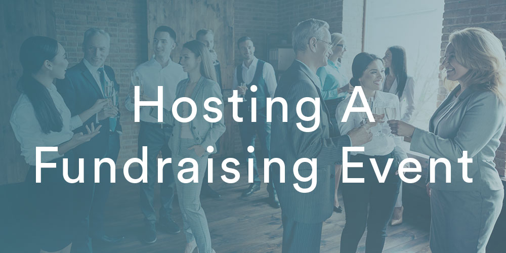section image hosting a peer to peer fundraising event