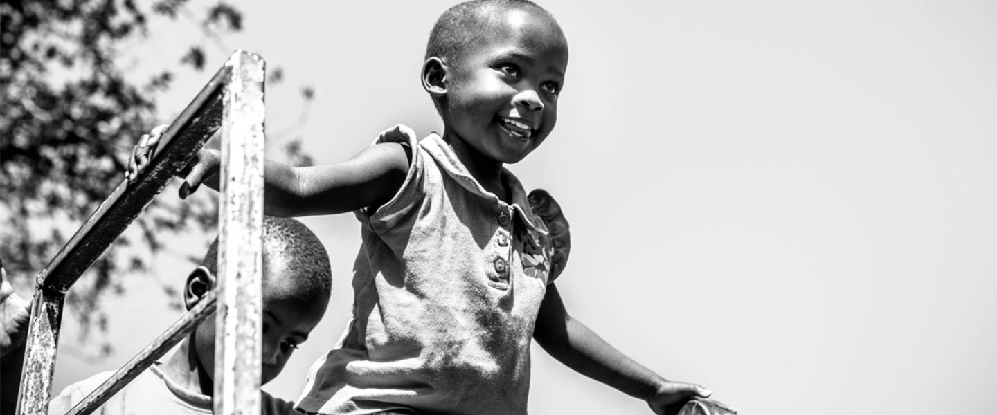 African child smiling