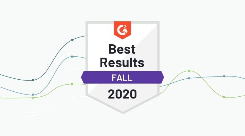 Kindful best results G2 crowd badge fall 2020