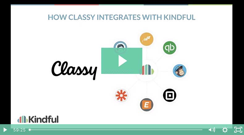 how kindful and classy work together webinar header image