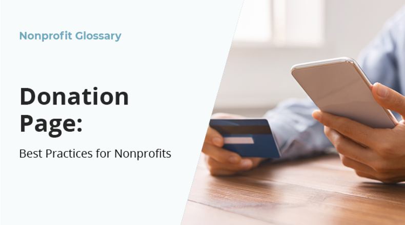 Learn about nonprofit donation pages and the best practices for designing your own.