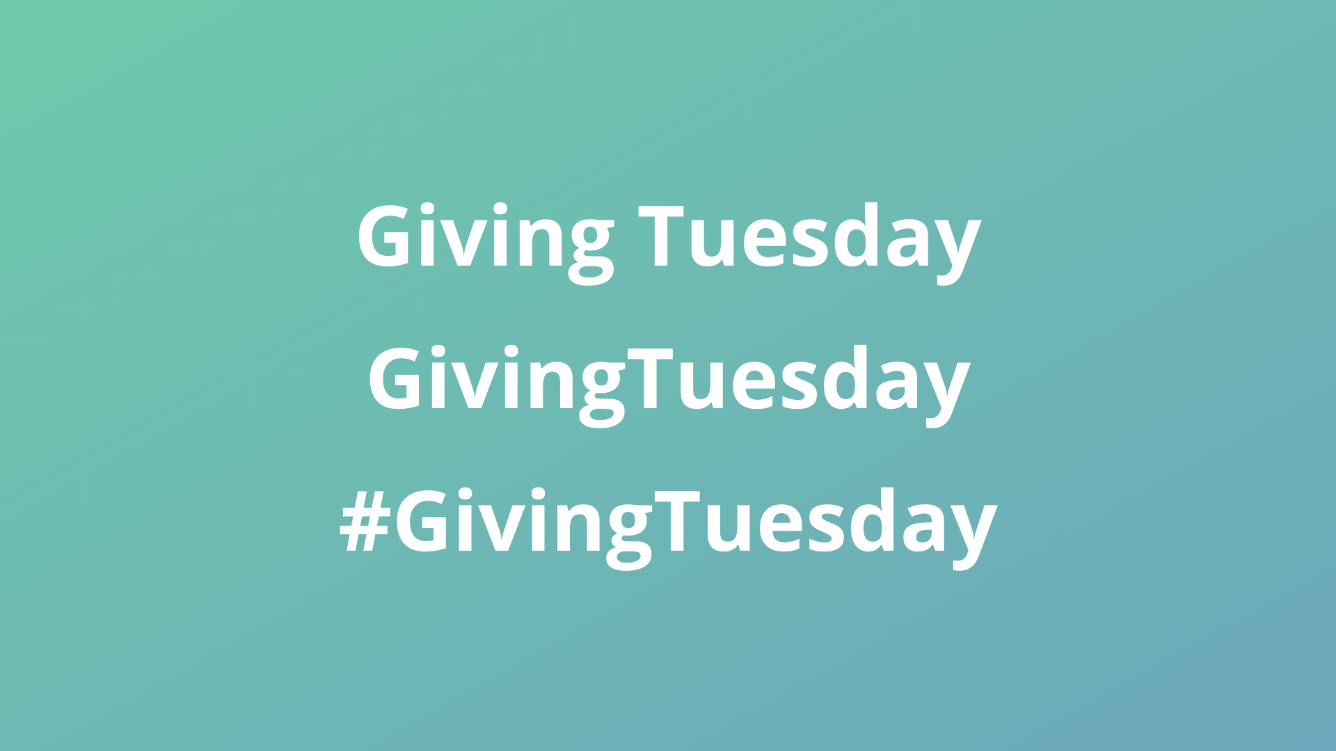different ways to spell giving tuesday