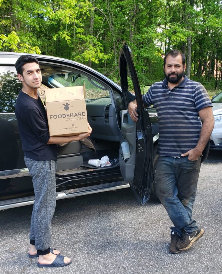 Mill Community delivering food as part of their expanded FoodShare program