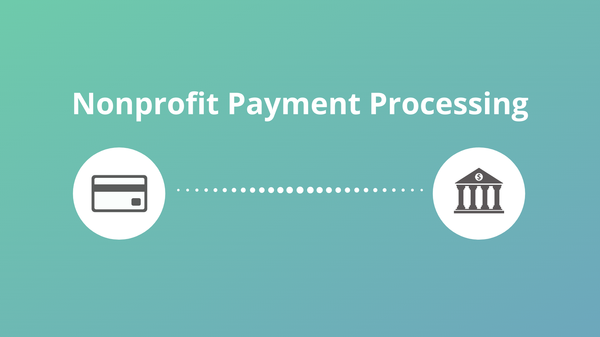 nonprofit payment processing header image