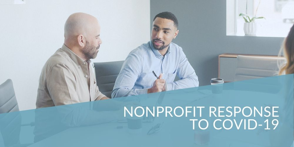 covid header image for nonprofit response