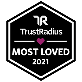 Trust Radius Most Loved 2021